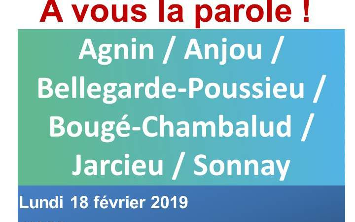 GRAND DEBAT NATIONAL - 18 FEVRIER 2019