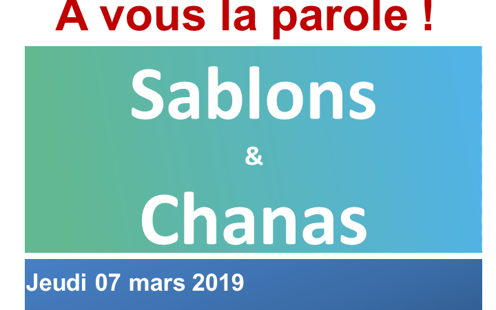 GRAND DEBAT NATIONAL - 7 MARS 2019