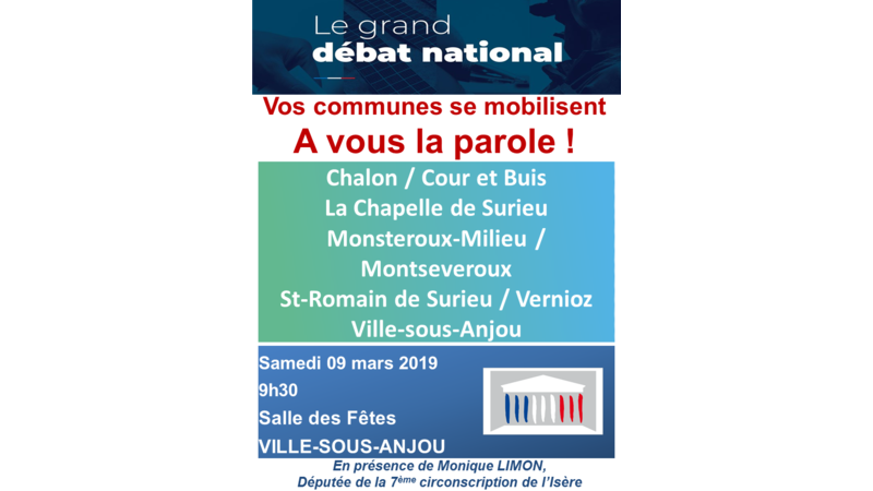 GRAND DEBAT NATIONAL - VILLE SOUS ANJOU