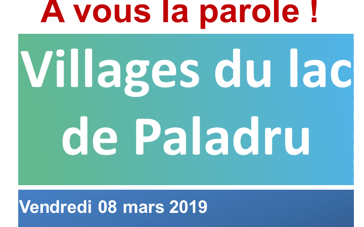 GRAND DEBAT NATIONAL - 8 MARS 2019