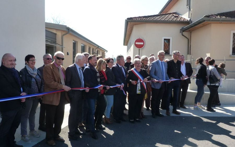 INAUGURATION AMENAGEMENTS COMMUNE DE PACT