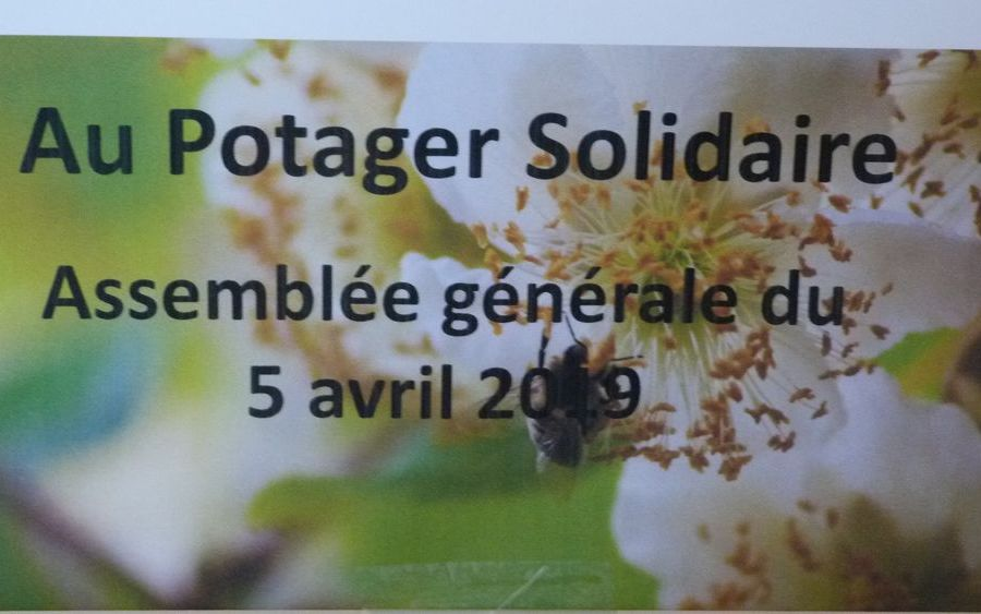 ASSEMBLEE GENERALE POTAGER SOLIDAIRE