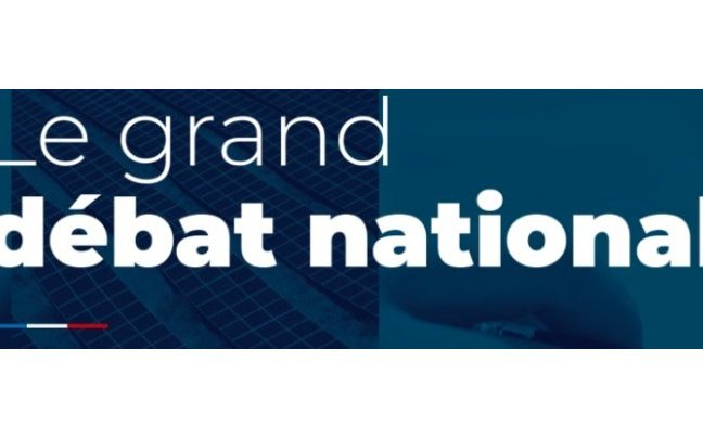 GRAND DEBAT NATIONAL - ANNONCES