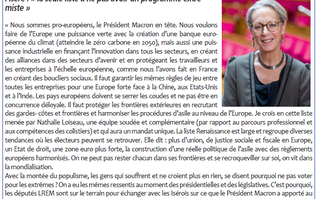 #EUROPE INTERVIEW L'ESSOR