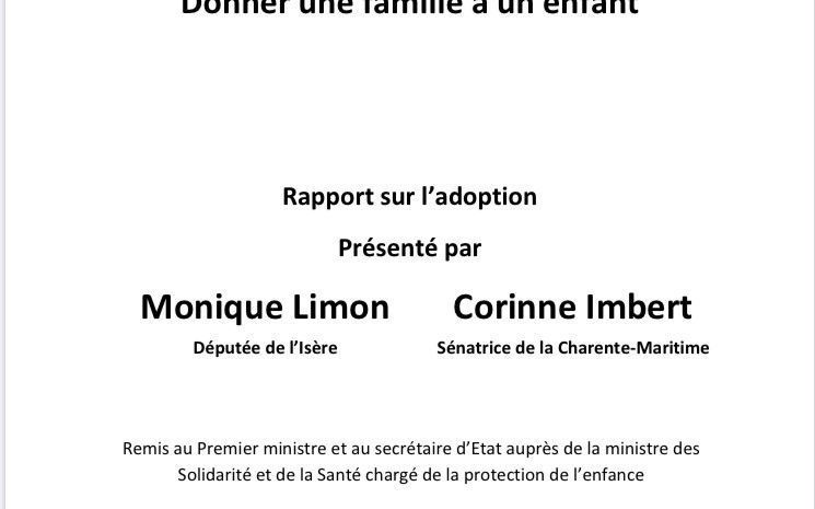 TEXTE PROPOSITION DE LOI REFORMANT L'ADOPTION